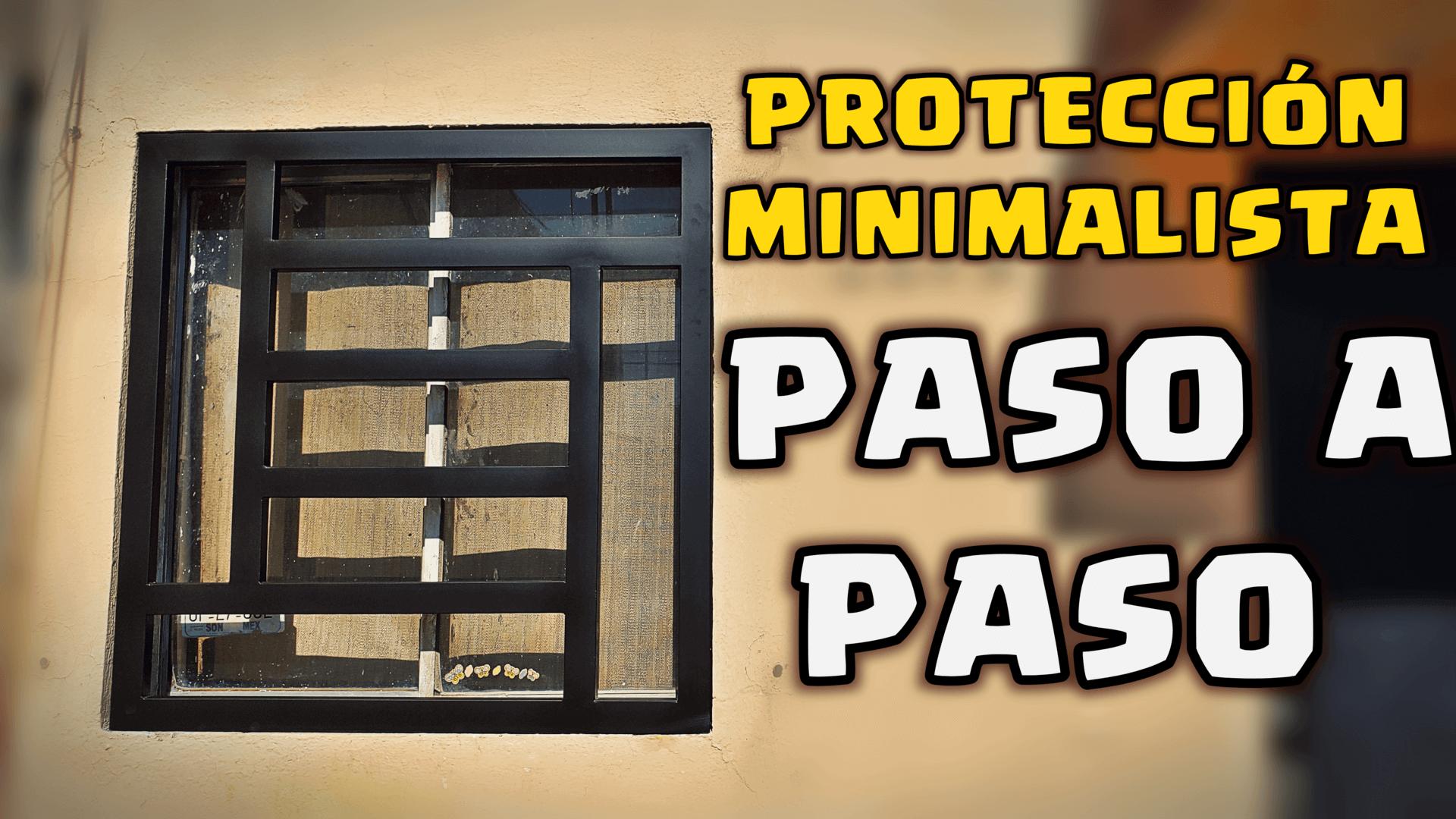 Tutorial reja protectora de ventana con productos PROLAMSA